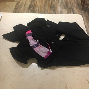 Lululemon lot of cropped/reversible bottoms